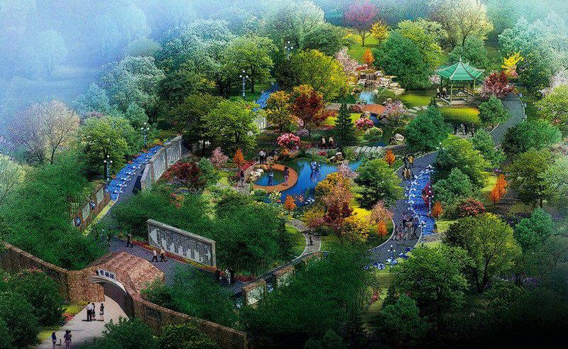 中国古典园林鸟瞰